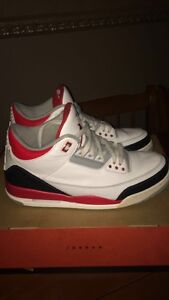 2013 Fire Red 3s