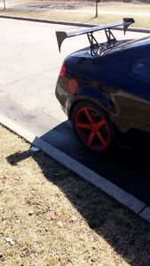 Spoiler and ikon rims for sale $1800
