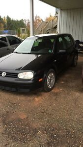 2004 VW GOLF 2.0L gas