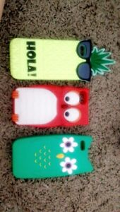 Phone cases, and hand sanitizer covers