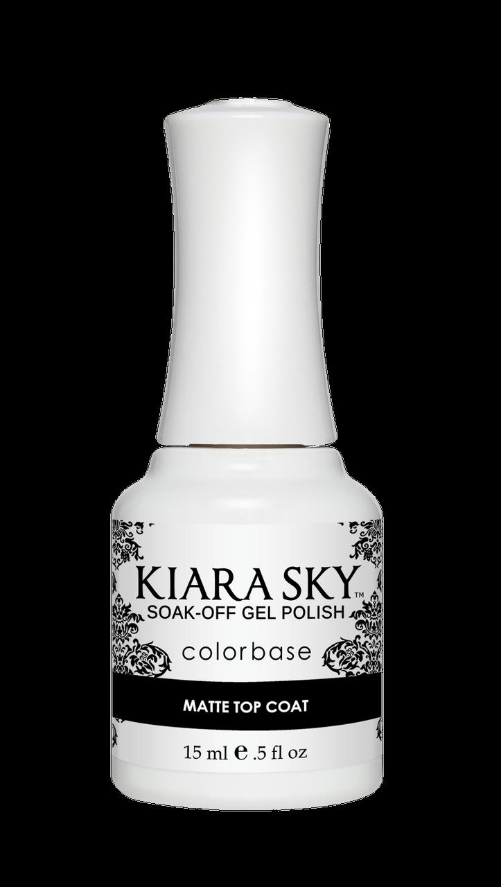 Kiara Sky Gel Polish Essentials - Base, Matte, Non Wipe, Ult