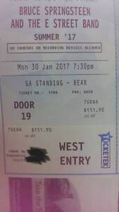 2 x Bruce Springsteen 30th of Jan. Adelaide Entertainment Centre Adelaide CBD Adelaide City Preview