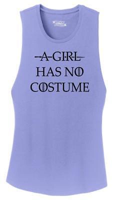 No A Halloween (Ladies A Girl Has No Costume Festival Tank Tv Movie Halloween)