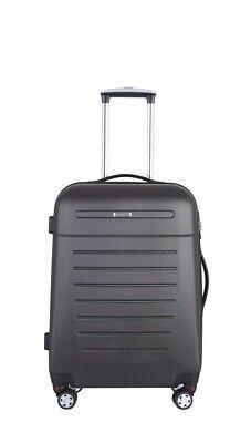 TrendLine Koffer-Trolley 67 l anthrazit TSA Hartschalenkoffer Koffer Reisekoffer