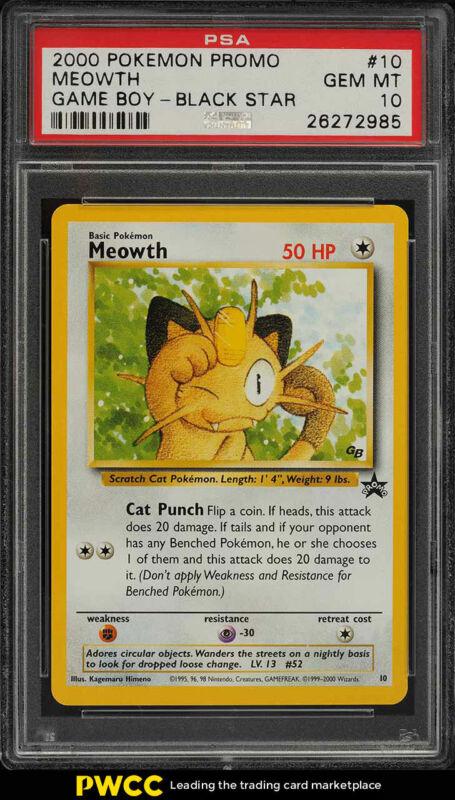 OLD Original Vintage Pokemon Cards 10 Lightning Type Basic Energy Lot NM PSA