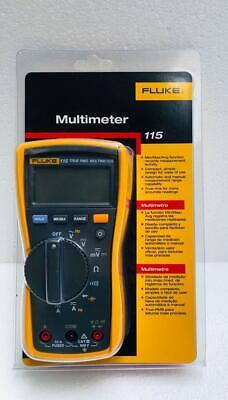 Fluke 115 Digital True Rms Multimeter With Test Probe