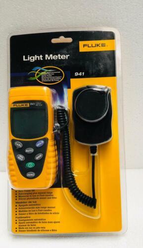 Fluke 941 Digital Handheld Photometer Light Meter With Soft Carry Case