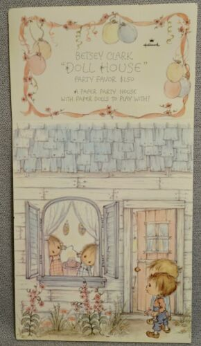BETSEY CLARK DOLL HOUSE PARTY FAVOR by HALLMARK - MINT & UNUSED