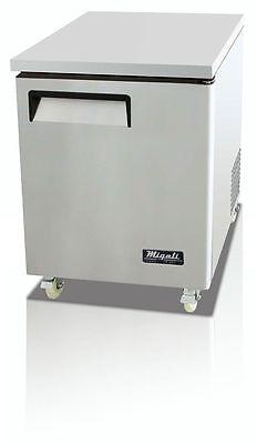Migali C-u27f Under-counter Work Top Freezer One Solid Doors With Warranty