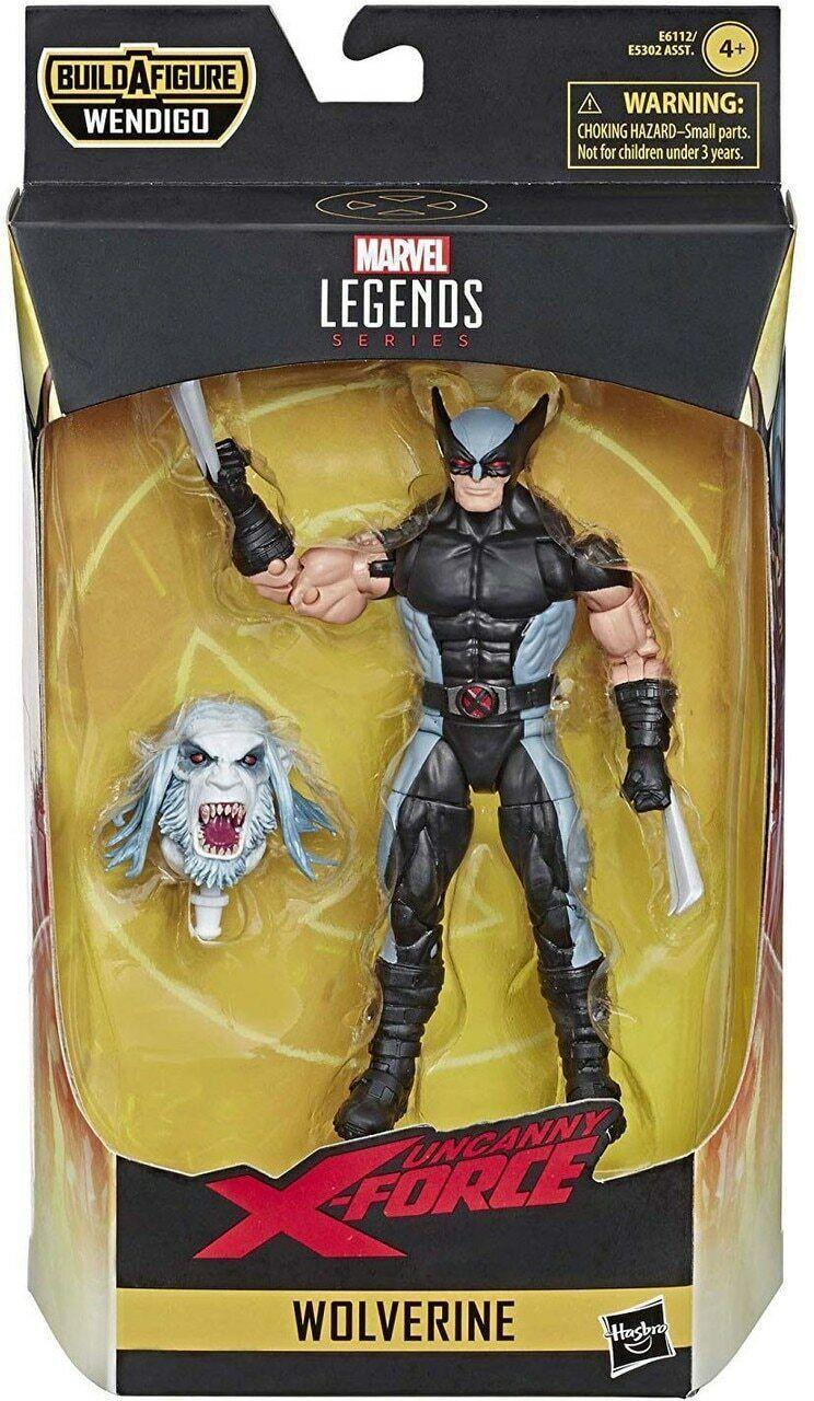 Marvel Legends X-Force Wolverine Wendigo BAF Wave In Stock