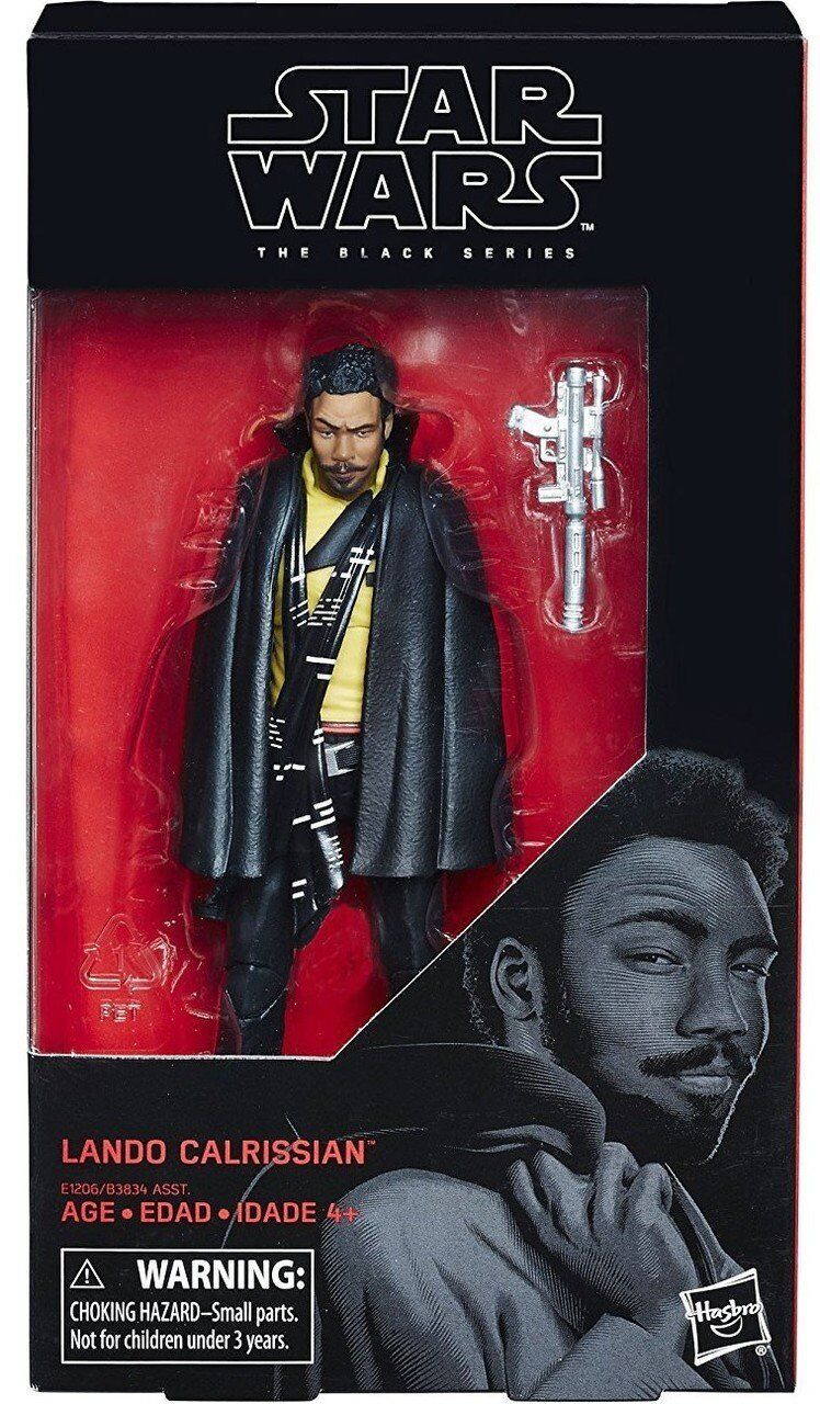 Film, telewizja i gry wideo Figurki akcji i z filmów Star Wars Black Series 6-inch Wave 16 #65 Lando Calrissian Solo Movie In Stock