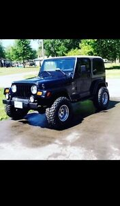 2000 Jeep TJ Sahara edition *REDUCED*