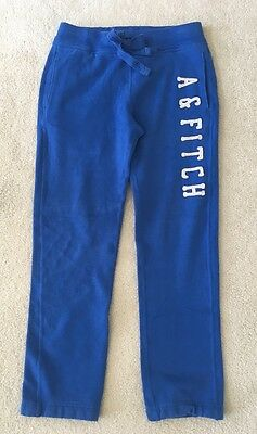 Abercrombie & Fitch Athletic Pants Blue Women's XS Stretch Elastic Waist Lounge