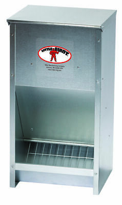 Little Giant 171267 Galvanized High Capacity Poultry Feeder