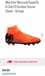 on sale 4027e a2354 Nike Mercurial Superfly   Kijiji - Buy, Sell & Save with Canada's #1 ...