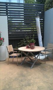 Outdoor table and chairs Woollahra Eastern Suburbs Preview