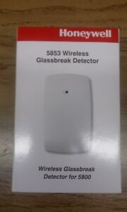 Ademco Honeywell 5853 WIRELESS Glass break detector. New. Free Shipping.