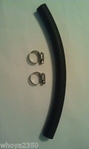 Alpha-1-Gen-2-3-4-Transom-Water-Hose-w-clamps-for-Mercruiser-Free-Shipping