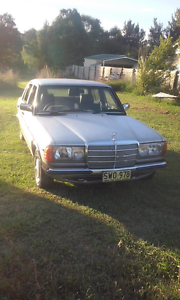 1983 Mercedes-Benz 230 Sedan Nundle Tamworth Surrounds Preview