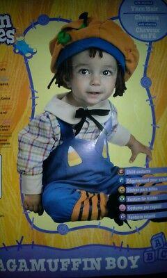 Rubies Boys Sz 3 4 Years Halloween Yarn Babies Ragamuffin Costume~