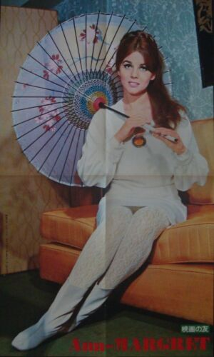 ANN-MARGRET Japanese Personality poster 1966 Umbrella 12x20