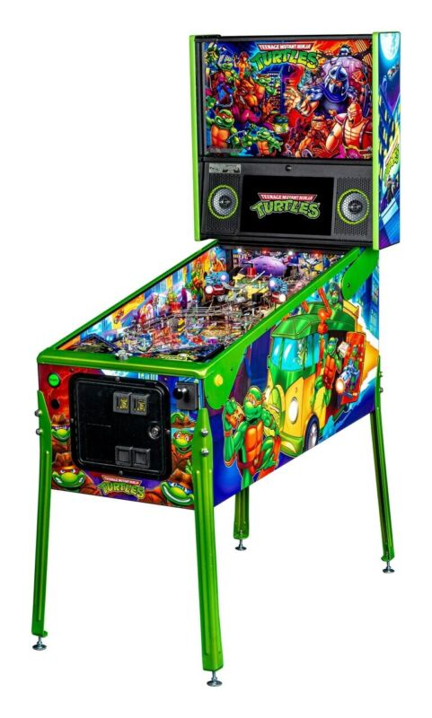 Teenage Mutant Ninja Turtles Limited Edition Pinball New In Box Free Ship
