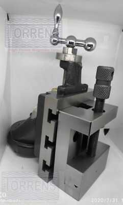 Lathe Vertical Milling Slide - Swivel Base 4x5 100x125mm With 88mm Vice