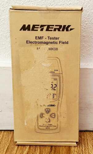 Meterk MK08 EMF Electromagnetic Field Radiation Detector Meter NEW