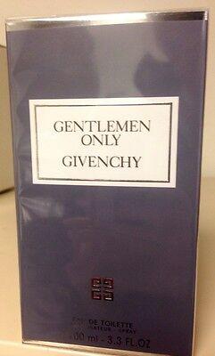 Givenchy Gentlemen Only Men  Eau De Toilette SPRAY  3.3 oz /  100 ml NIB