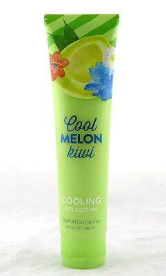 Cool Melon Kiwi Cooling Gel Lotion Bath & Body Works 5.6oz NEW apple sorbet aloe ()