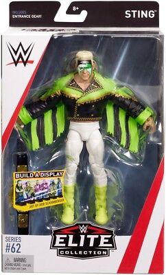 WWE Mattel Surfer Sting Elite Series #62 Figure](Wwe Sting)
