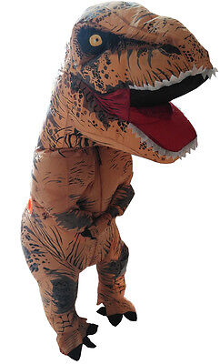 T Rex Costume For Adults (Skinz Inflatable T-Rex Dinosaur Costume for)