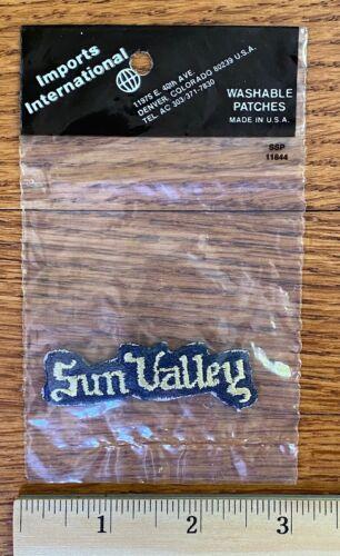 Vintage Patch - Sun Valley Idaho
