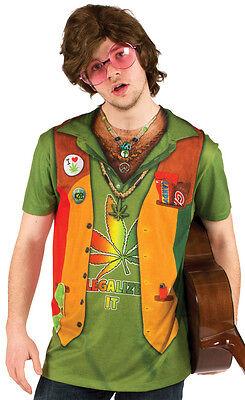 Faux Real Sublimation Kiffer Legalisieren Gras Kostüm Outfit T-Shirt S-2XL