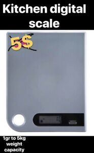Moving out sale kitchen digital scale