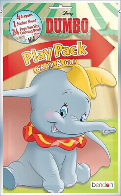 Play Pack - Dumbo - Grab and Go Party Favors - - Play Pack Grab And Go