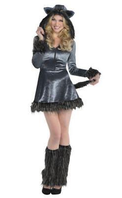 Howling Hottie Wolf Adult Womans Medium 8 -10 Halloween Costume](Wolf Woman Halloween Costume)
