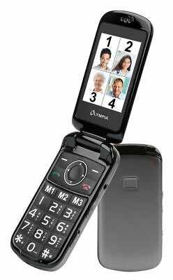 OLYMPIA Brava Plus Senioren KlappHandy Mobiltelefon große Tasten Kamera SOS