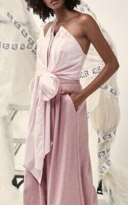 Acler Cunningham Machenzie Bodice Top Size 2 VersatileTie Pink $268