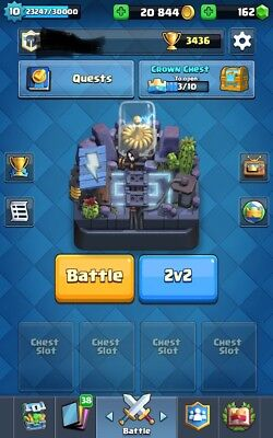 Clash Royale 10Lvl Arena 11 Ios Android  Cheap