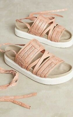 Anthropologie Embossed Sport Sandals by Inuikii Size 38 EUR 8 USA  $228