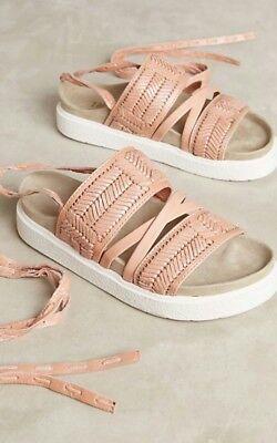 Anthropologie Embossed Sport Sandals by Inuikii Size 41 EUR $228