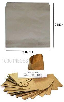 1000 KRAFT PAPER BAGS STRUNG 7
