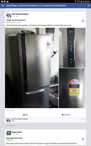 fridge/freezer Logan Village Logan Area Preview