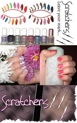 Scratchers AnyWEAR Stamping Nail Art Special Polish Lacquer 5mL nailpolish (Best Nail Polish For Stamping)