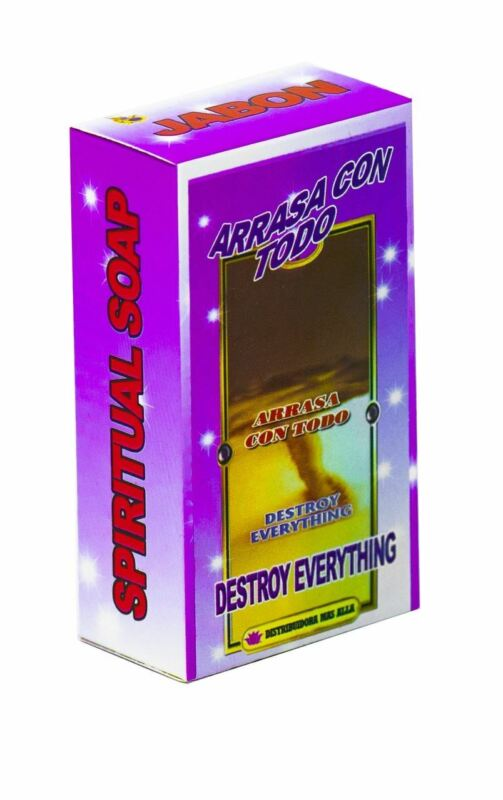 Jabon Arrasa Con Todo - Spiritual And Esoteric Destroy Everything Bar Soap
