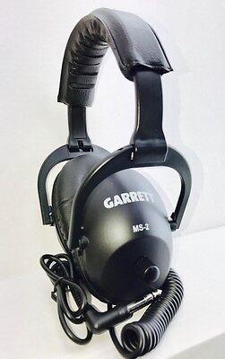 "Garrett MS-2 Metal Detector Master Sound 1/4"" Plug Headphones + FREE SHIPPING!"