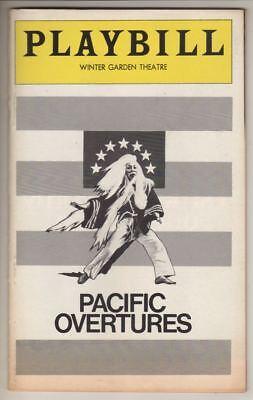 "Stephen Sondheim  ""Pacific Overtures""    Playbill   1976  Mako & Soon-Teck Oh"
