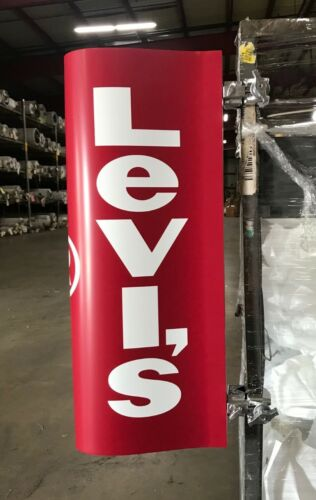 Vintage NOS Levis Store Sign Advertising Levi
