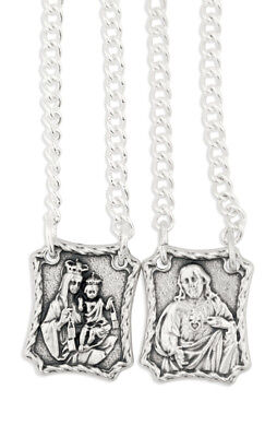 Our Lady of Mount Carmel Metal Scapular ()